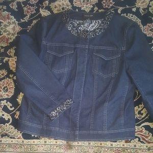 FOCUS 2000 jean jacket - SZ 14